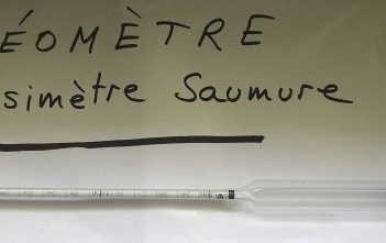 Densimètre saumure (ou arèomètre)