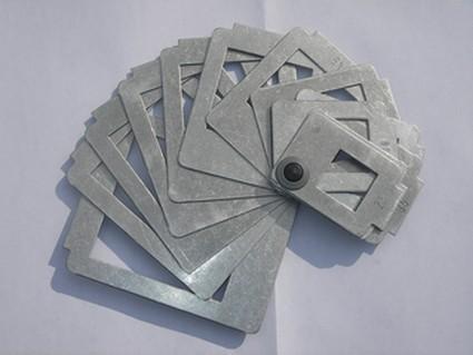 Calibreur de poche en inox