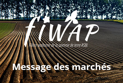 Message hebdomadaire de la Fiwap du 05 janvier 2021