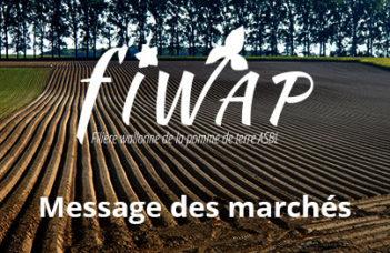 Message hebdomadaire de la Fiwap du 20 avril 2021