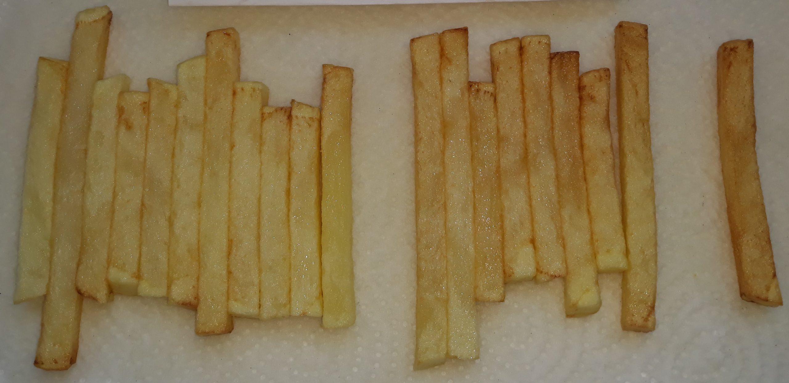 Forte compétition sur le marché des ventes de frites