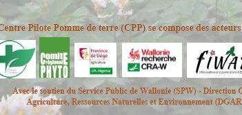 Journée technique Pommes de Terre duCPPle 11 décembre 2019 à Gembloux
