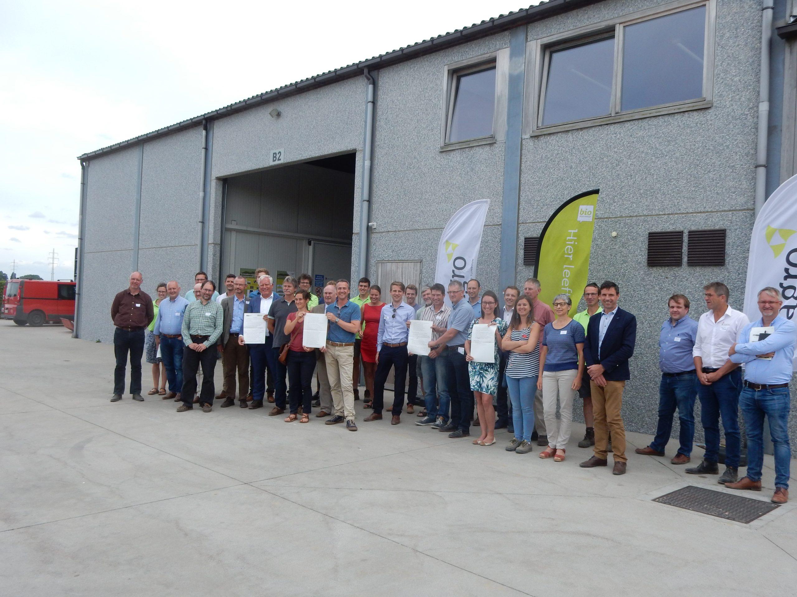 Une convention pommes de terre bio « Aardappel Convenant » signée en Région flamande en juillet 2018