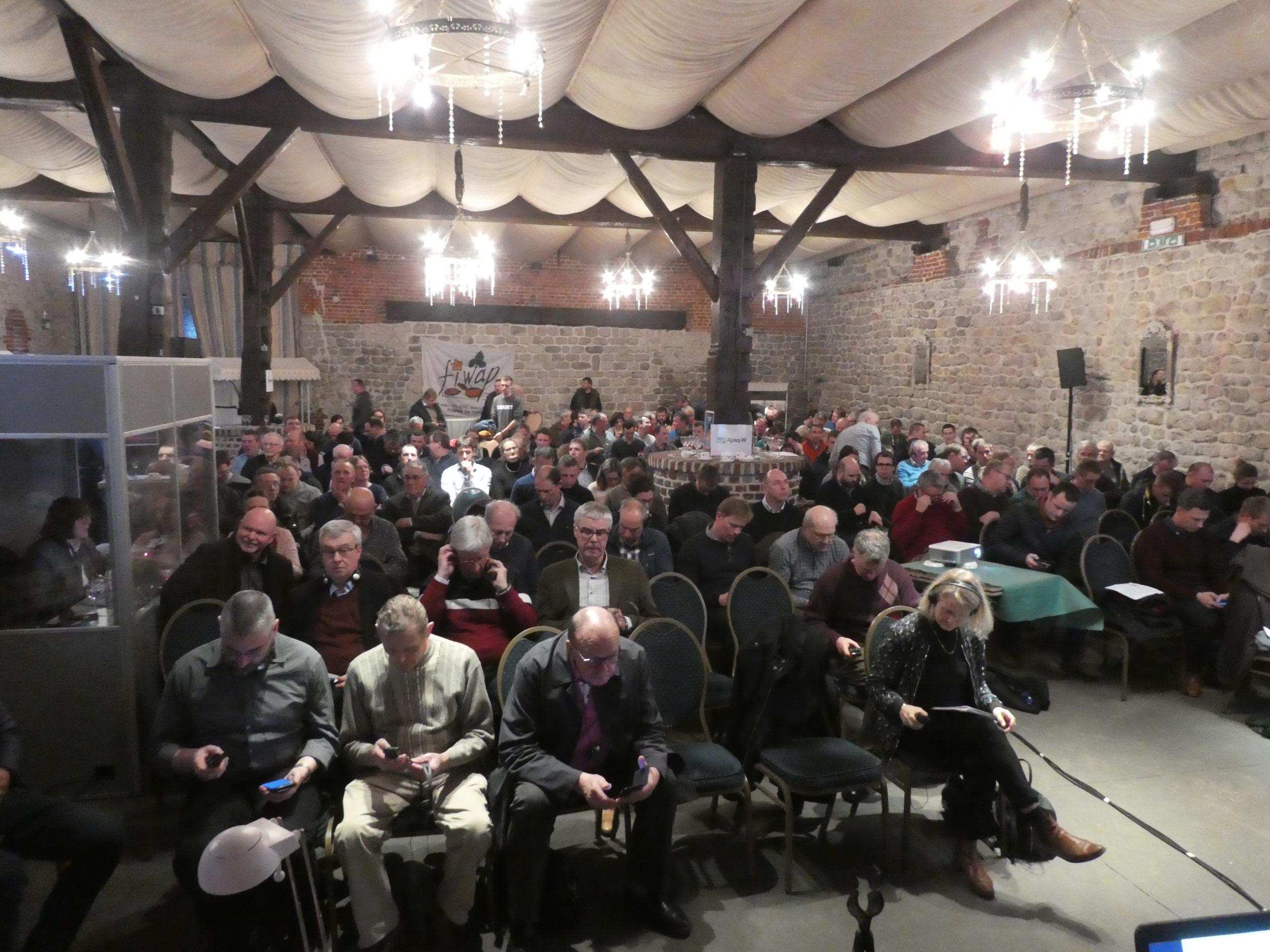 27ème Assemblée générale Fiwap le 02 mars dernier à Thines-lez-Nivelles