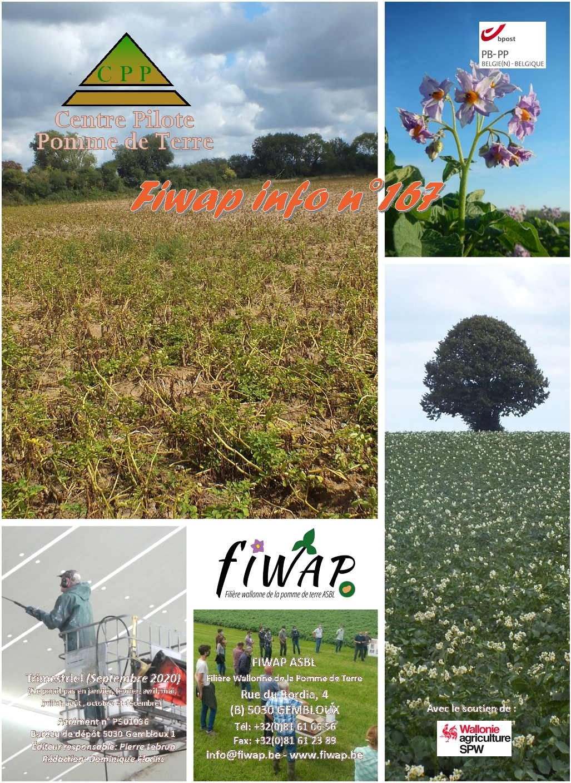 Fiwap Info 167 : Septembre 2020