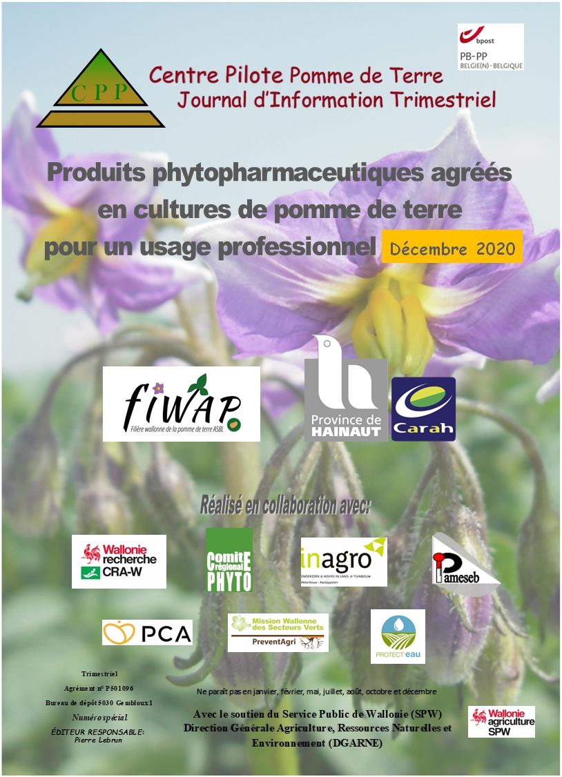 Liste Produits Phyto 2020 (mise à jour décembre 2020)