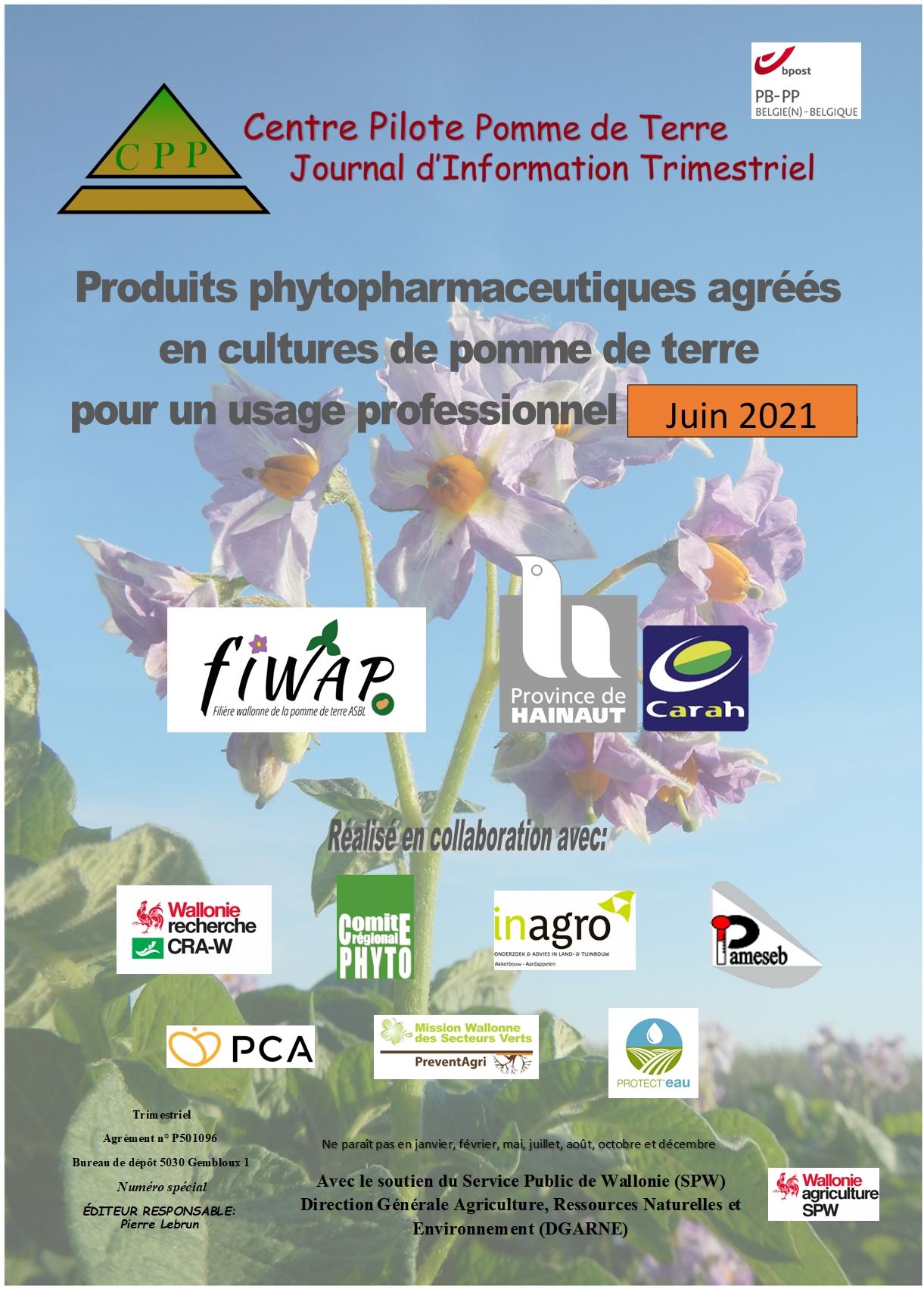 Liste des produits phyto (mise à jour : juin 2021)