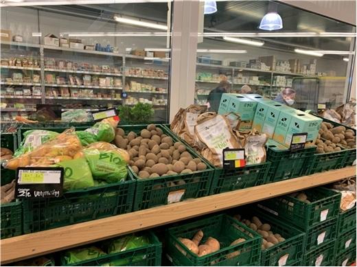 La part des variétés robustes belge dans les points de vente en Belgique début 2021