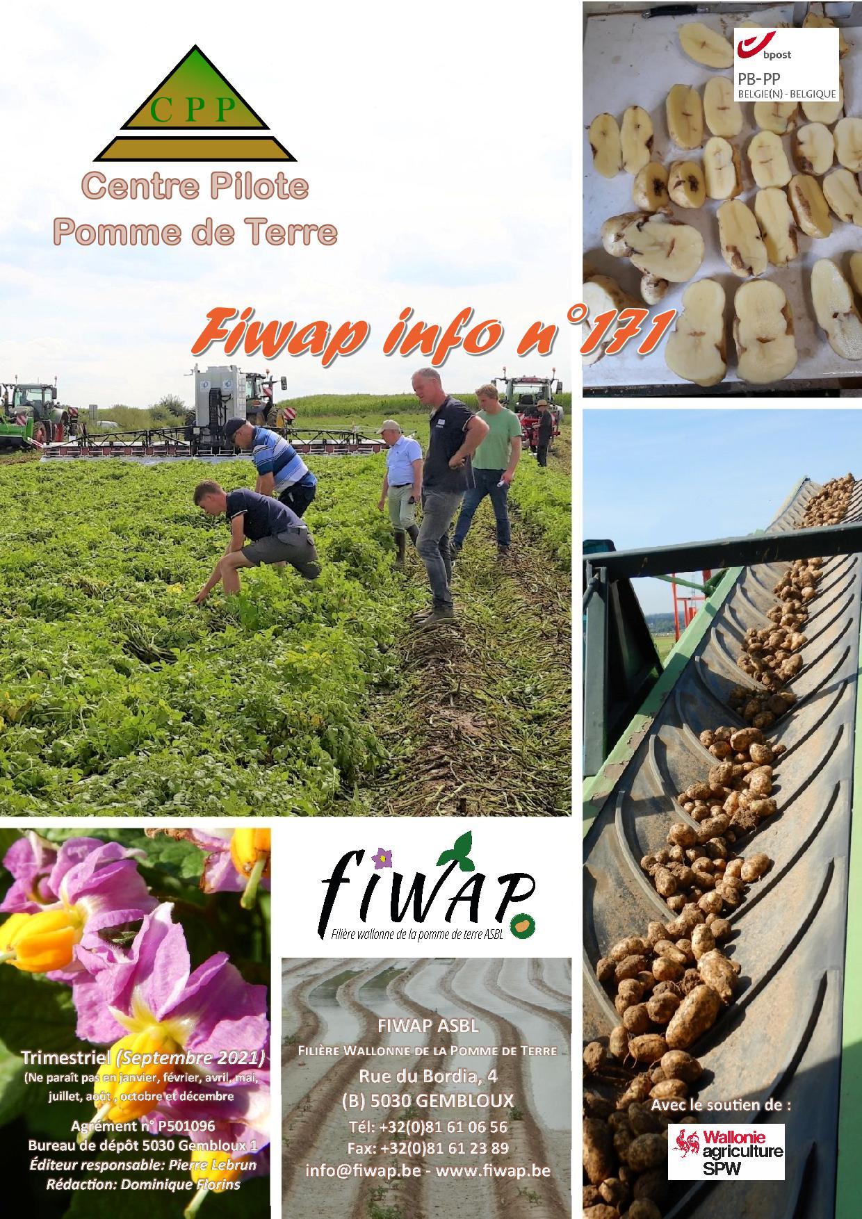 Fiwap Info 171 – Septembre 2021